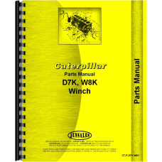 Caterpillar D7K Hyster Winch Attachment Parts Manual