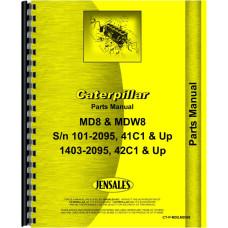 Caterpillar MDW8 Pipelayer Parts Manual (SN# 41C1, 42C1 & Up)