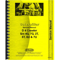 Caterpillar D4 Crawler Service Manual (1938-57) (Chassis)