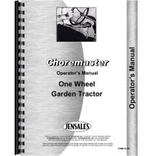 Choremaster Lawn & Garden Tractor Operators Manual