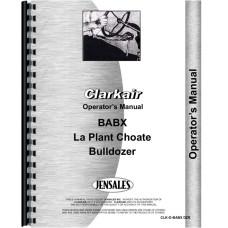 Clarkair BABX Bulldozer Attachment Operators Manual