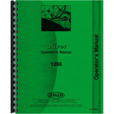Cockshutt 1250 Tractor Operators Manual