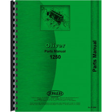 Cockshutt 1250 Tractor Parts Manual