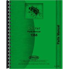 Cockshutt 1355 Tractor Parts Manual
