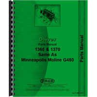 Minneapolis Moline G450 Tractor Parts Manual