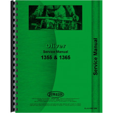 Cockshutt 1355 Tractor Service Manual (1969-1971)