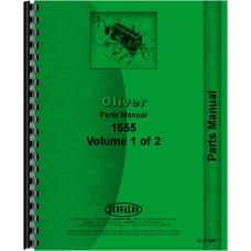 Cockshutt 1655 Tractor Parts Manual