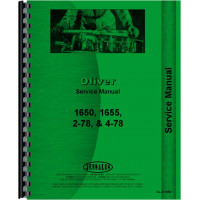 Oliver 4-78 Tractor Service Manual