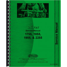 Cockshutt 1855 Tractor Service Manual