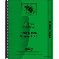 Cockshutt 1800 Tractor Parts Manual