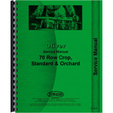 Cockshutt 70 Tractor Service Manual
