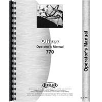 Cockshutt 770 Tractor Operators Manual