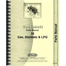 Cockshutt 30 Tractor Parts Manual (E3)