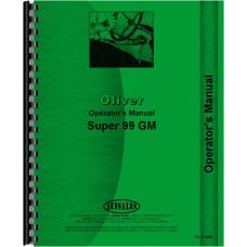 Cockshutt Super 99 Tractor Operators Manual