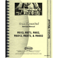 Continental Engines R6513 Engine Service Manual