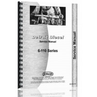 Euclid 20 TDT Tractor Detroit Diesel Engine Service Manual