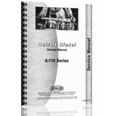 Euclid 33 TDT Tractor Detroit Diesel Engine Service Manual
