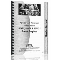 Hough H-100B Pay Loader Detroit Diesel Engine Service Manual