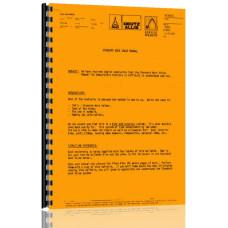Deutz (Allis) 4180 Lawn & Garden Tractor Service Manual