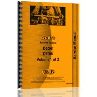 Deutz (Allis) D6006 Tractor Service Manual (Chassis)