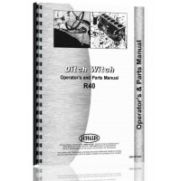 Ditch Witch R-40 Trencher Operators & Parts Manual (Chassis)