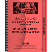 Massey Ferguson 210 Backhoe Attachment Service Manual