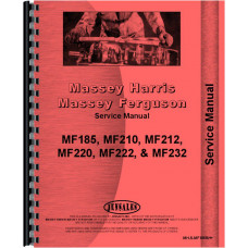 Massey Ferguson 232 Backhoe Attachment Service Manual