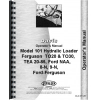 Ferguson TO20 Loader Attachment Operators Manual