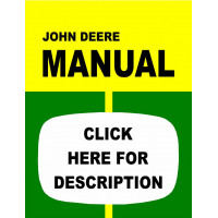 John Deere 4000 Tractor Service Manual (IT Shop)
