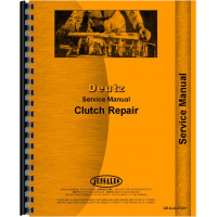 Deutz (Allis) D13006 Tractor Clutch Service Manual (1972-1976) (Clutch)