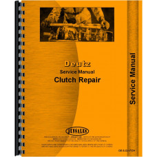 Deutz (Allis) DX4.70 Tractor Clutch Service Manual (1983-1989) (Clutch)