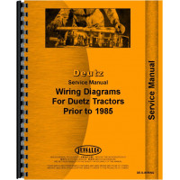 Deutz (Allis) D13006 Tractor Wiring Diagram Service Manual (Wiring Diagrams)