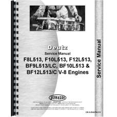 Deutz (Allis) F8L513\L Engine Service Manual