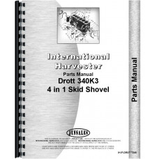 Drott Loader for T-340 & TD-340 Crawler Parts Manual (IH-P-DROT T340)