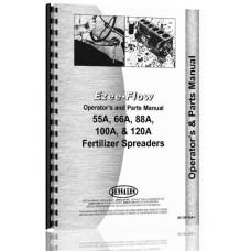 Ezee-Flow 55A, 66A, 88A, 100A, 120A Fertilizer Spreader Operators & Parts Manual (Fertilizer Spreader)