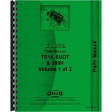 Euclid TS-14 Tractor Scraper Parts Manual