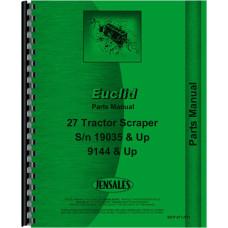 Euclid TS-18 Tractor Scraper Service Manual (Diesel)
