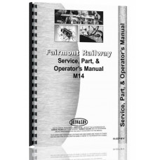 Fairmont M14 Railway Car Service Manual