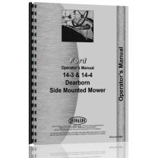Dearborn 14-3, 14-4 Side Mounted Mower Operators Manual (Mower)