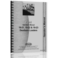 Ford 19-21 Dearborn Loader Operators Manual