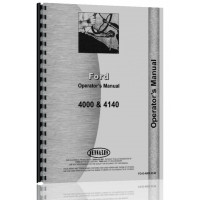 Ford 4140 Industrial Tractor Operators Manual (1962-1964)