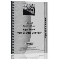 Ford Cultivator Operators Manual