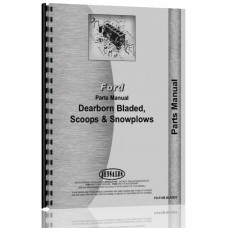 Dearborn Scoops, Blades, Snow Plows Parts Manual