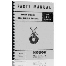 Ford D220 Engine Parts Manual
