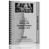 Ford 2120 Tractor Service Manual[FO-S-1920,2120]