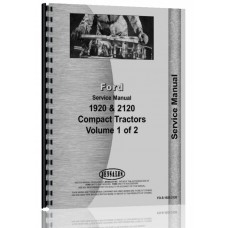 Ford Service Manual (1920 Tractor (Diesel) (Compact) | 2120 Tractor)
