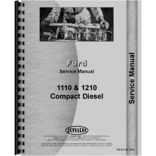 Ford Tractor Service Manual (1110 Tractor | 1210 Tractor)