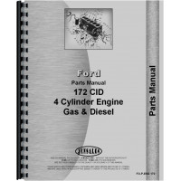 Hesston 300 Windrower Ford Engine Parts Manual