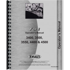Ford 4400 Industrial Tractor Operators Manual (1965-1974)