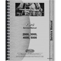 Ford 2000 Tractor Data Manual (Data)